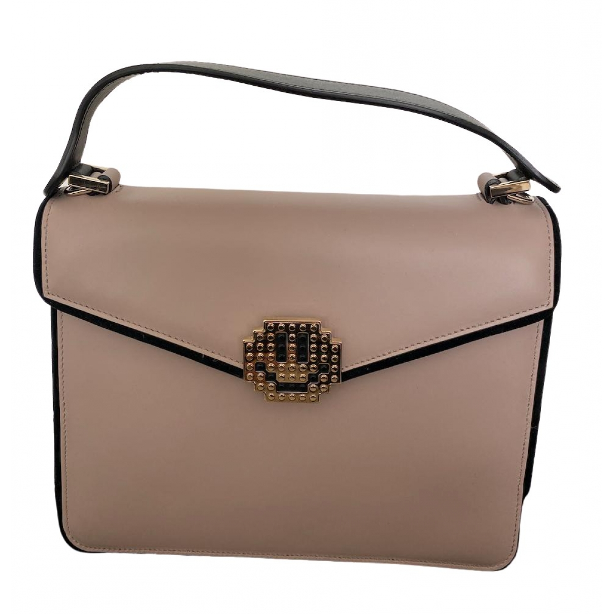 Les Petits Joueurs \N Beige Leather handbag for Women \N