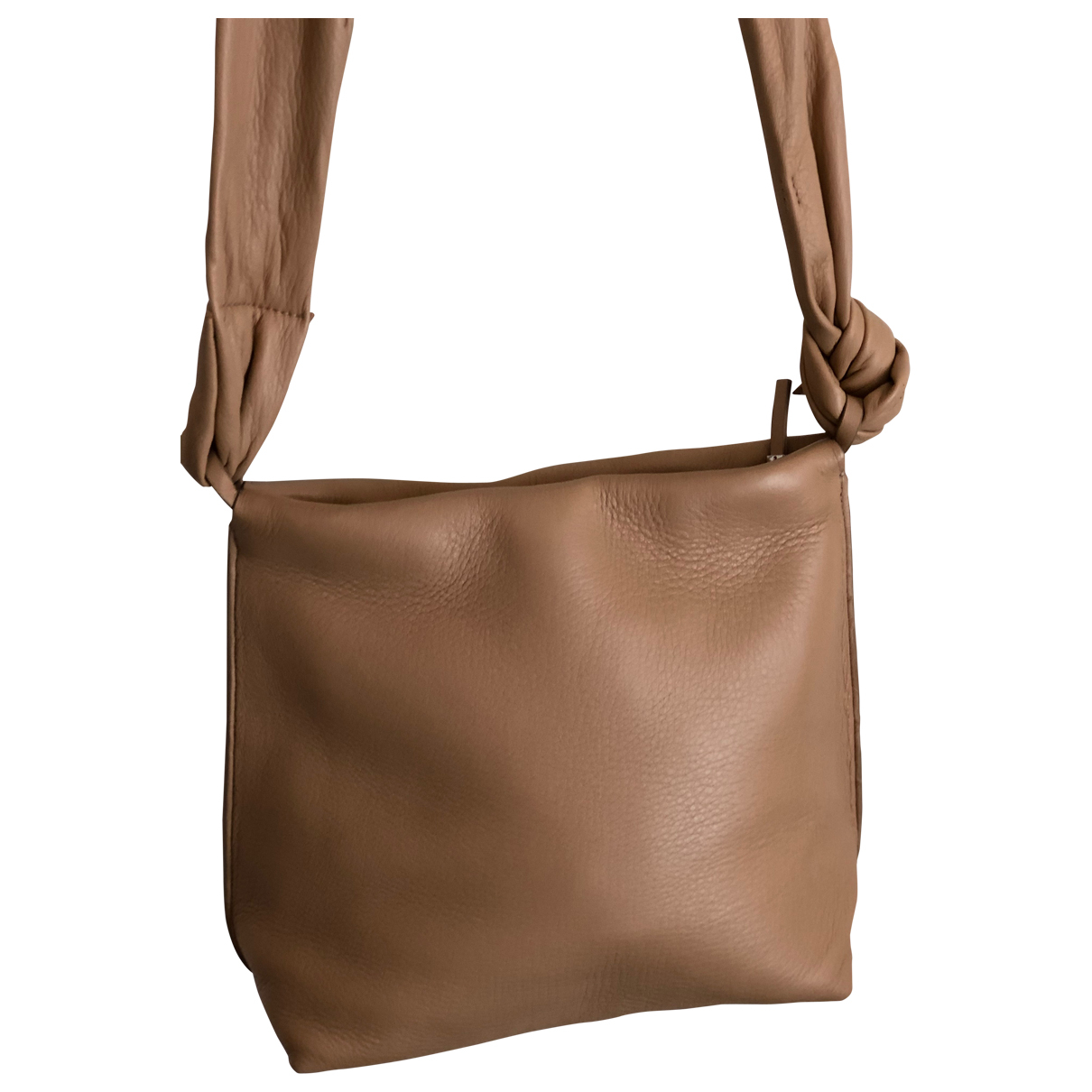 The Row \N Handtasche in  Ecru Leder