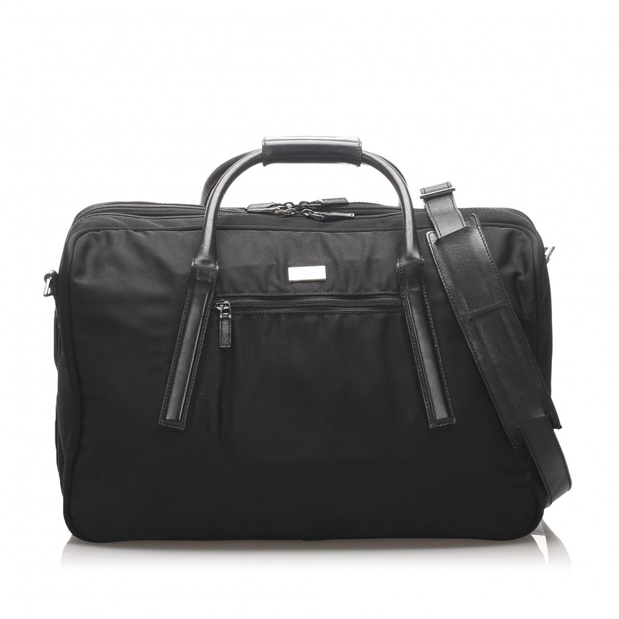 Gucci \N Brown Cloth Travel bag for Women \N