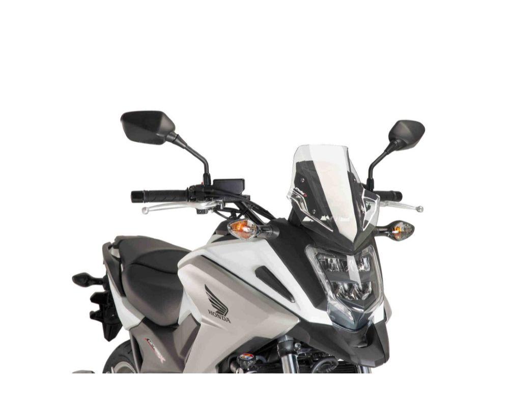 Puig 8909W Sport Windscreen - Clear Honda NC700X 2018