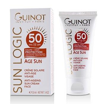 Sun Logic Age Sun Anti-ageing Sun Cream For Face Spf 50