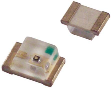 ROHM 2.1 V Yellow LED 2012 (0805) SMD,  SML-210YTT86 (20)