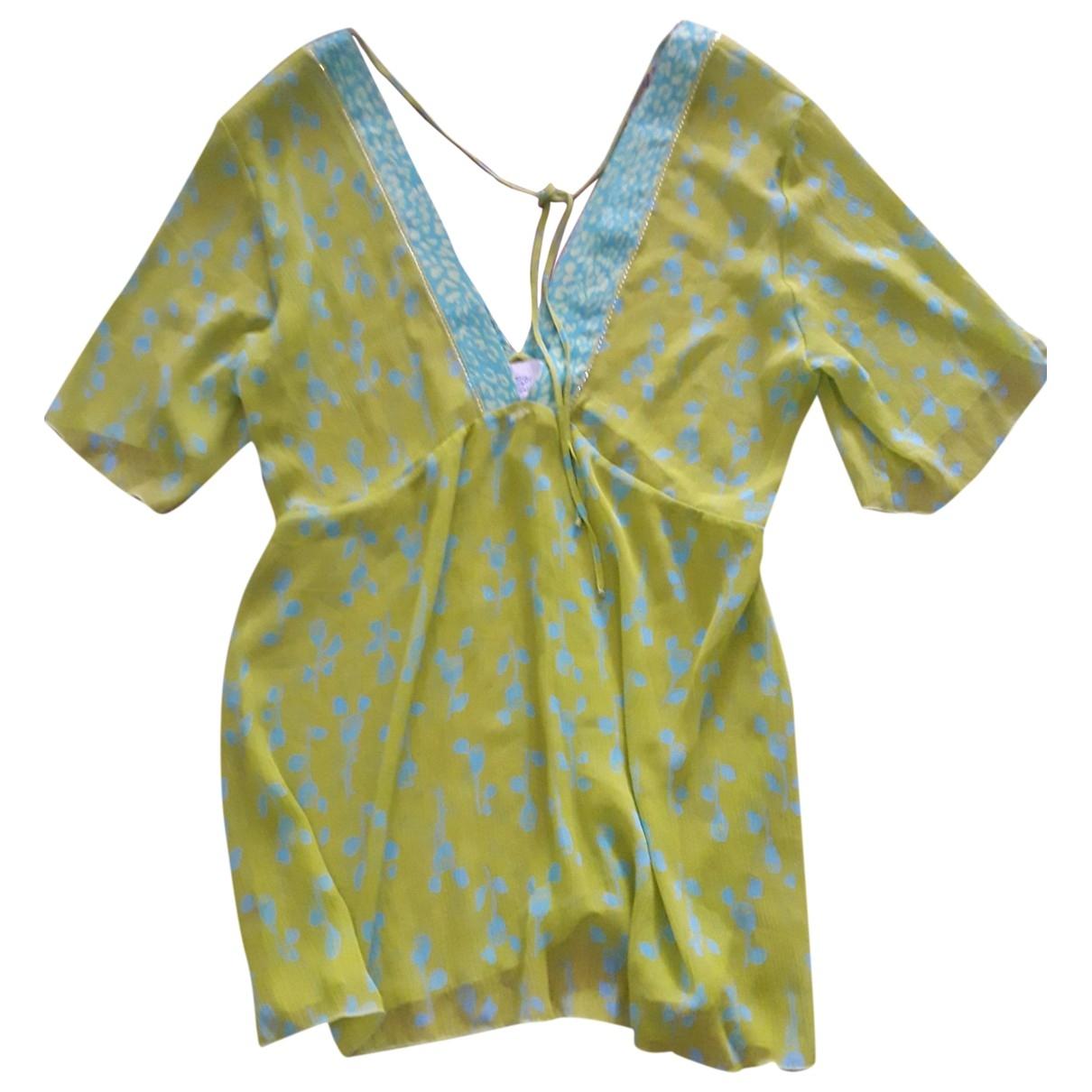 Blumarine \N Badeanzug in  Gruen Polyester