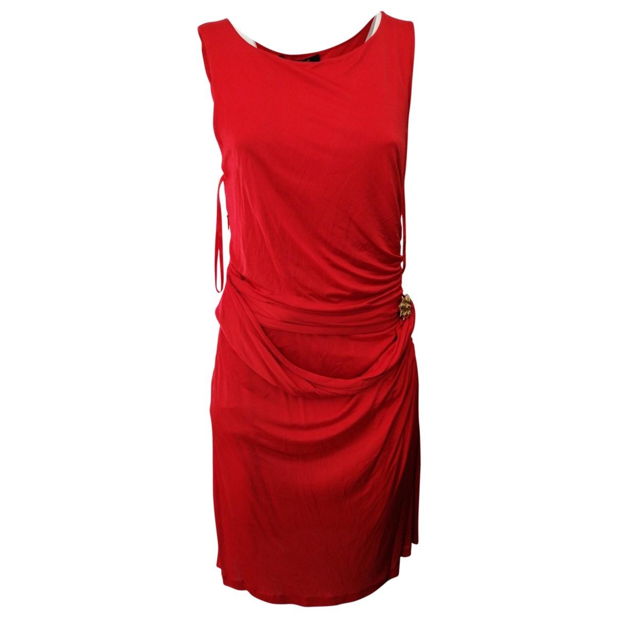 Roberto Cavalli \N Red dress for Women 44 IT