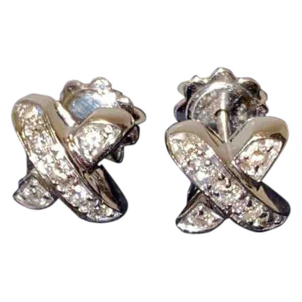 Tiffany & Co - Boucles doreilles Paloma Picasso pour femme en platine