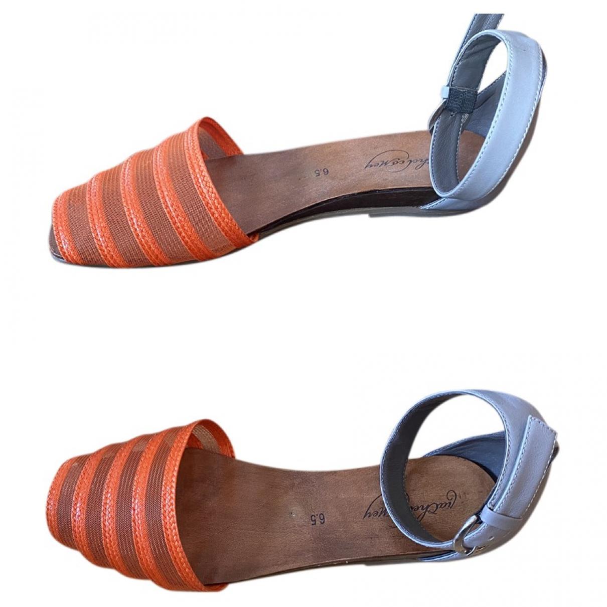 Rachel Comey \N Orange Leather Sandals for Women 6.5 US