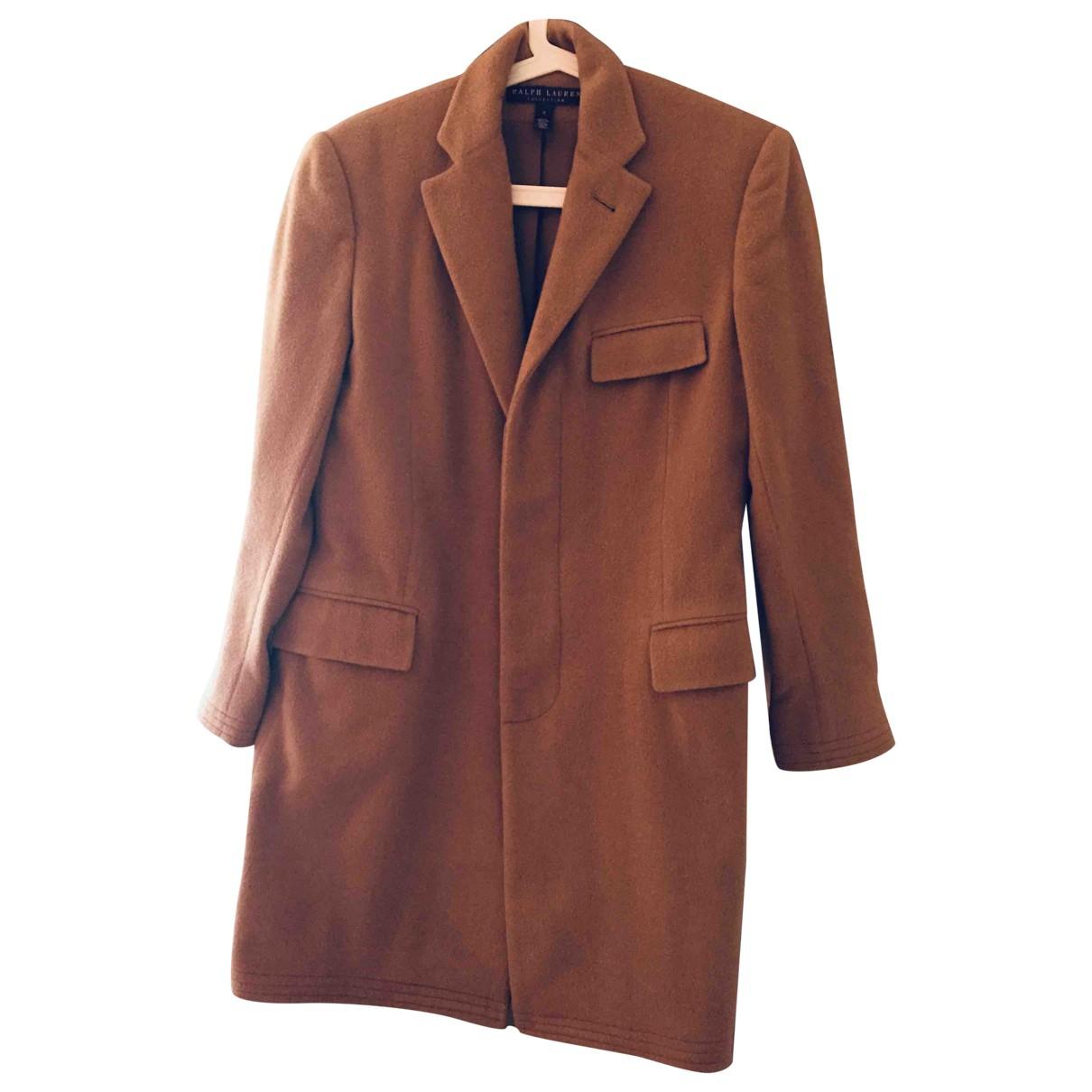 Ralph Lauren Purple Label - Manteau   pour femme en cachemire - camel