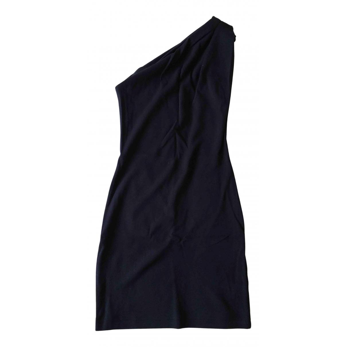 American Apparel \N Kleid in  Blau Baumwolle