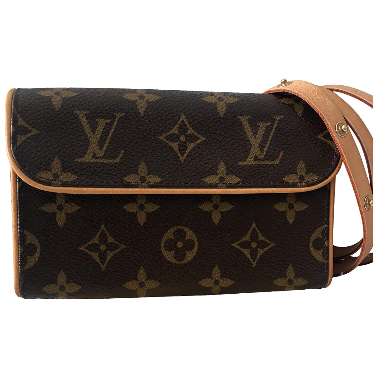 Pochette Florentine de Cuero Louis Vuitton