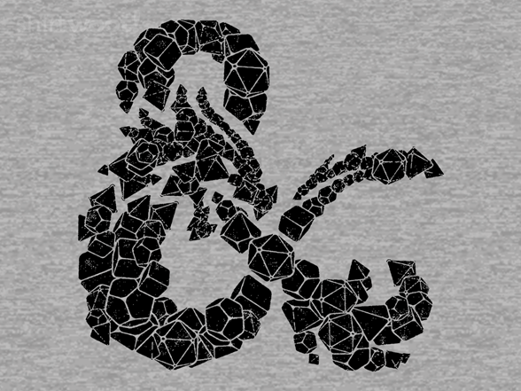 Dragons & Dice T Shirt