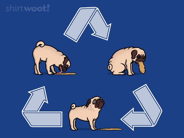 Pug Cycle T Shirt