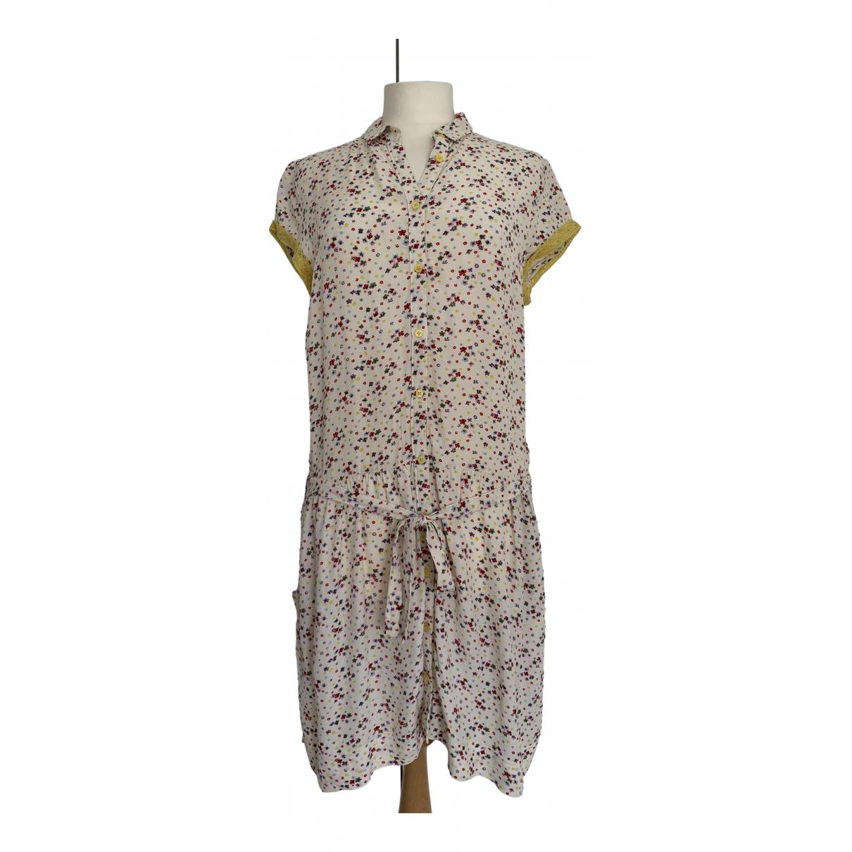 Zadig & Voltaire \N Kleid in  Ecru Viskose