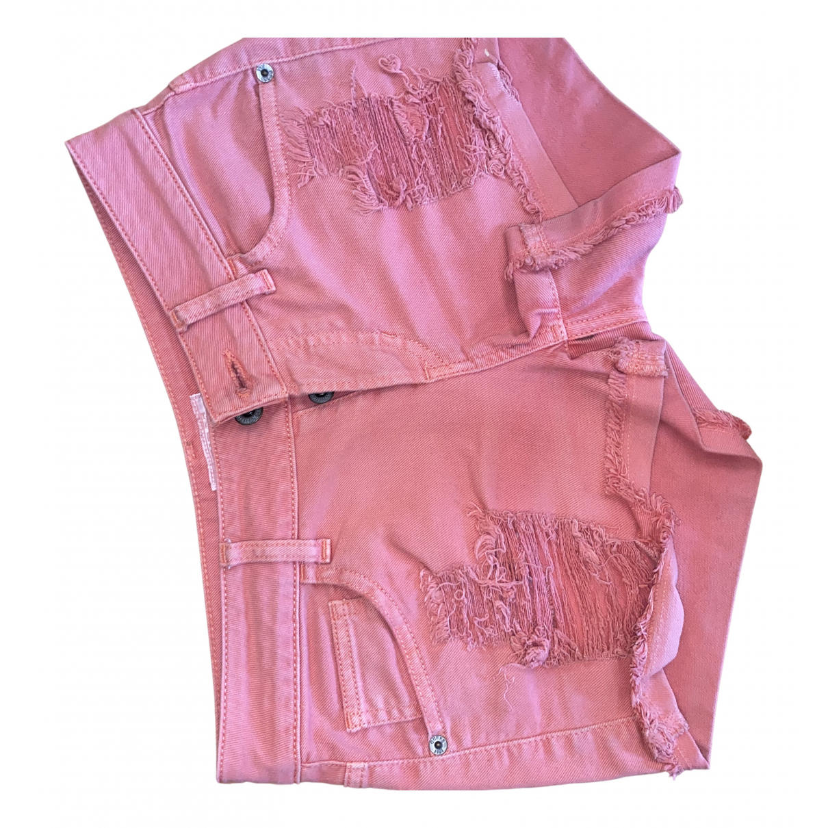 Guess \N Shorts in  Rosa Denim - Jeans