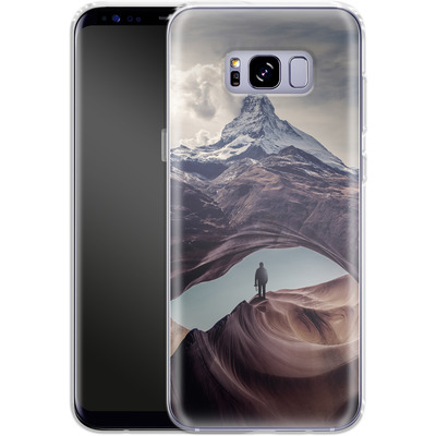 Samsung Galaxy S8 Plus Silikon Handyhuelle - The Great Outdoors von Enkel Dika