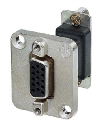 Neutrik , NAD Gender Changer 15 Way D-Sub Connector