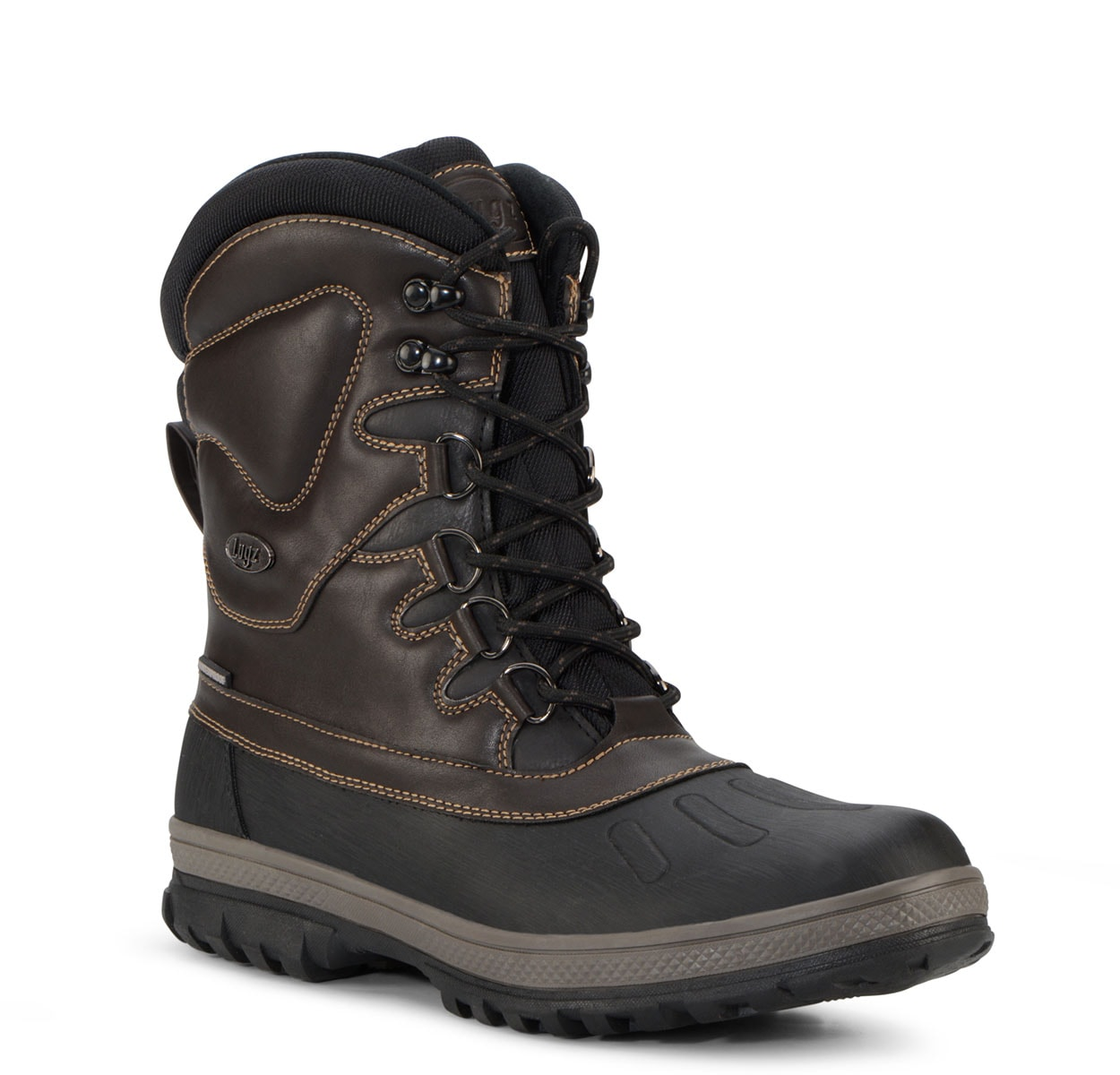 Men's Anorak 8-Inch Waterproof Boot (Choose Your Color: CAROB/OTTER/BLACK, Choose Your Size: 11.5)