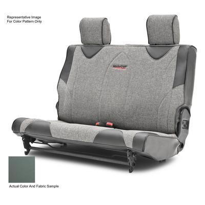 MasterCraft Safety Fold & Tumble DirtSport Rear Seat Slip Cover (Smoke/Gray) - 702717