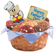Cookie Gift Basket for Dad