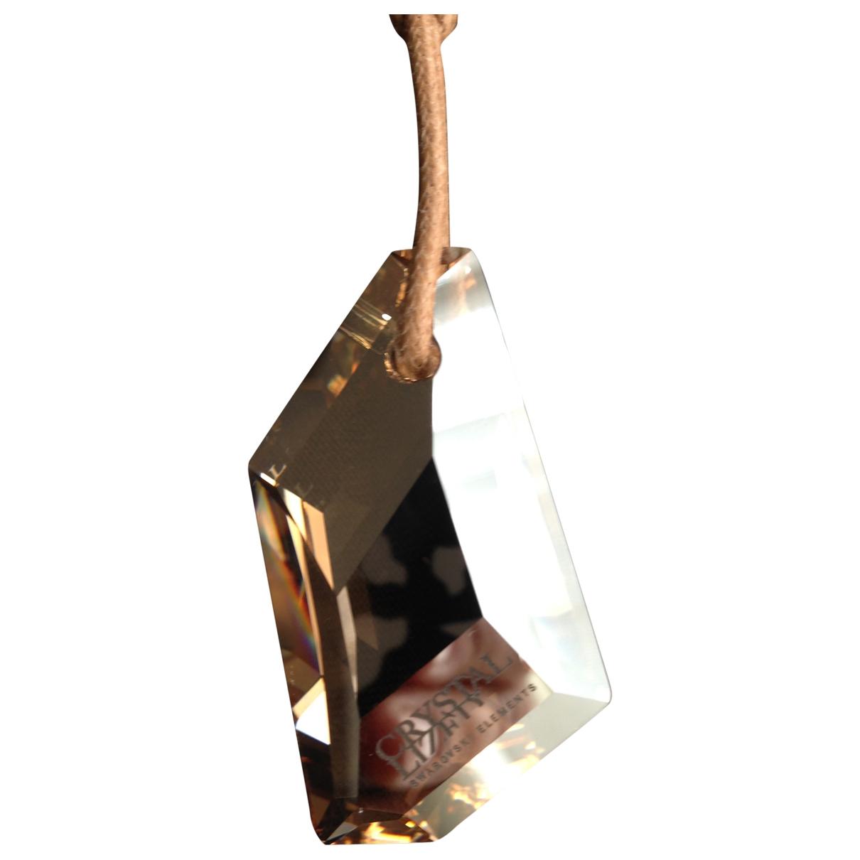 Swarovski \N Gold Crystal pendant for Women \N