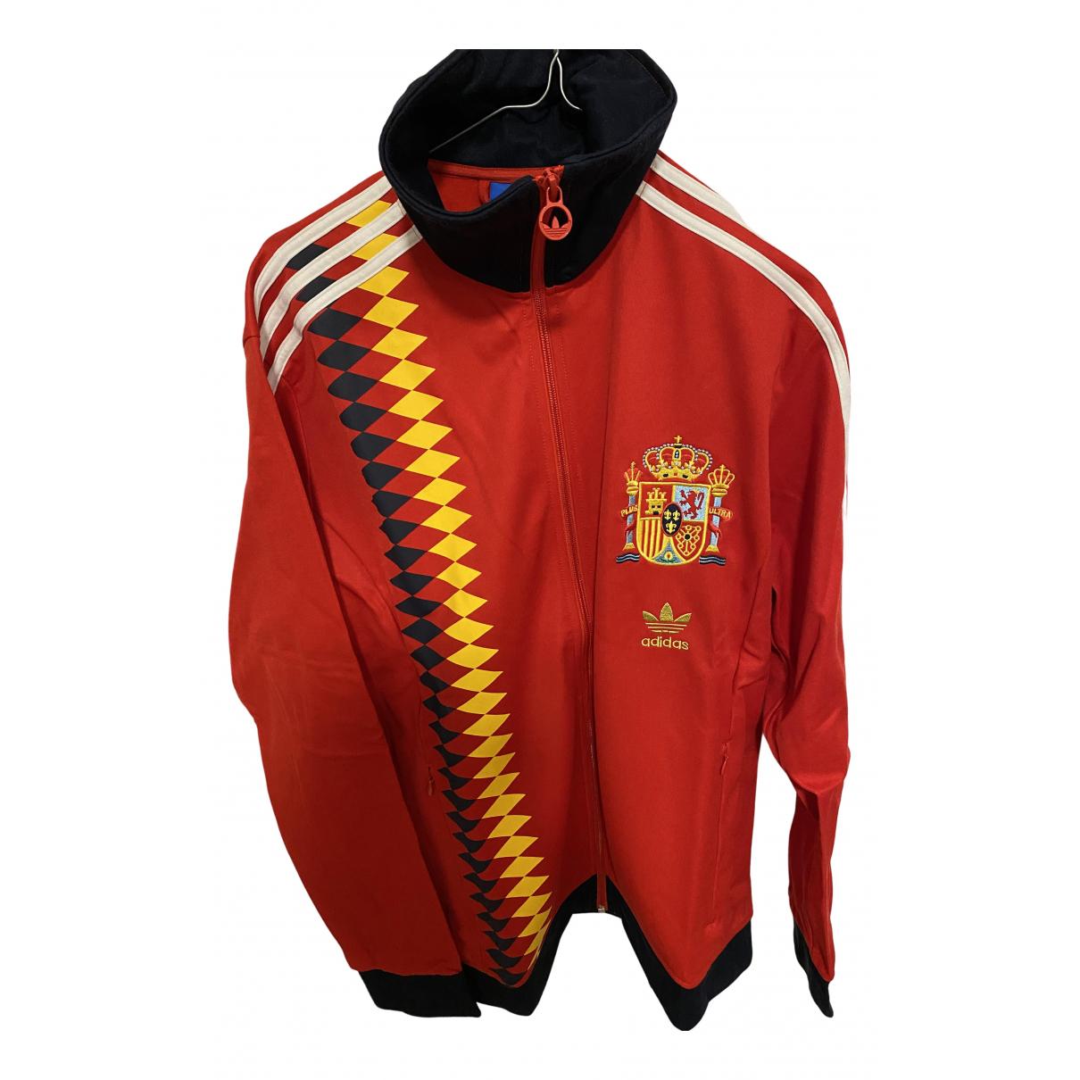 Adidas \N Pullover.Westen.Sweatshirts  in  Rot Synthetik