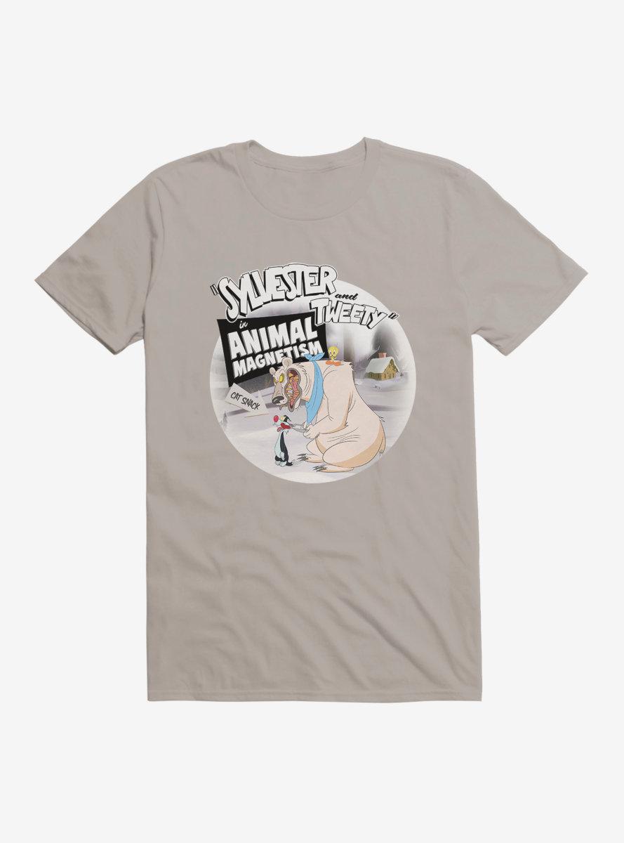 Looney Tunes Sylvester Tweety Animal Megnetism T-Shirt