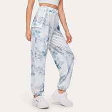 Tie Dye Pocket Sweatpants