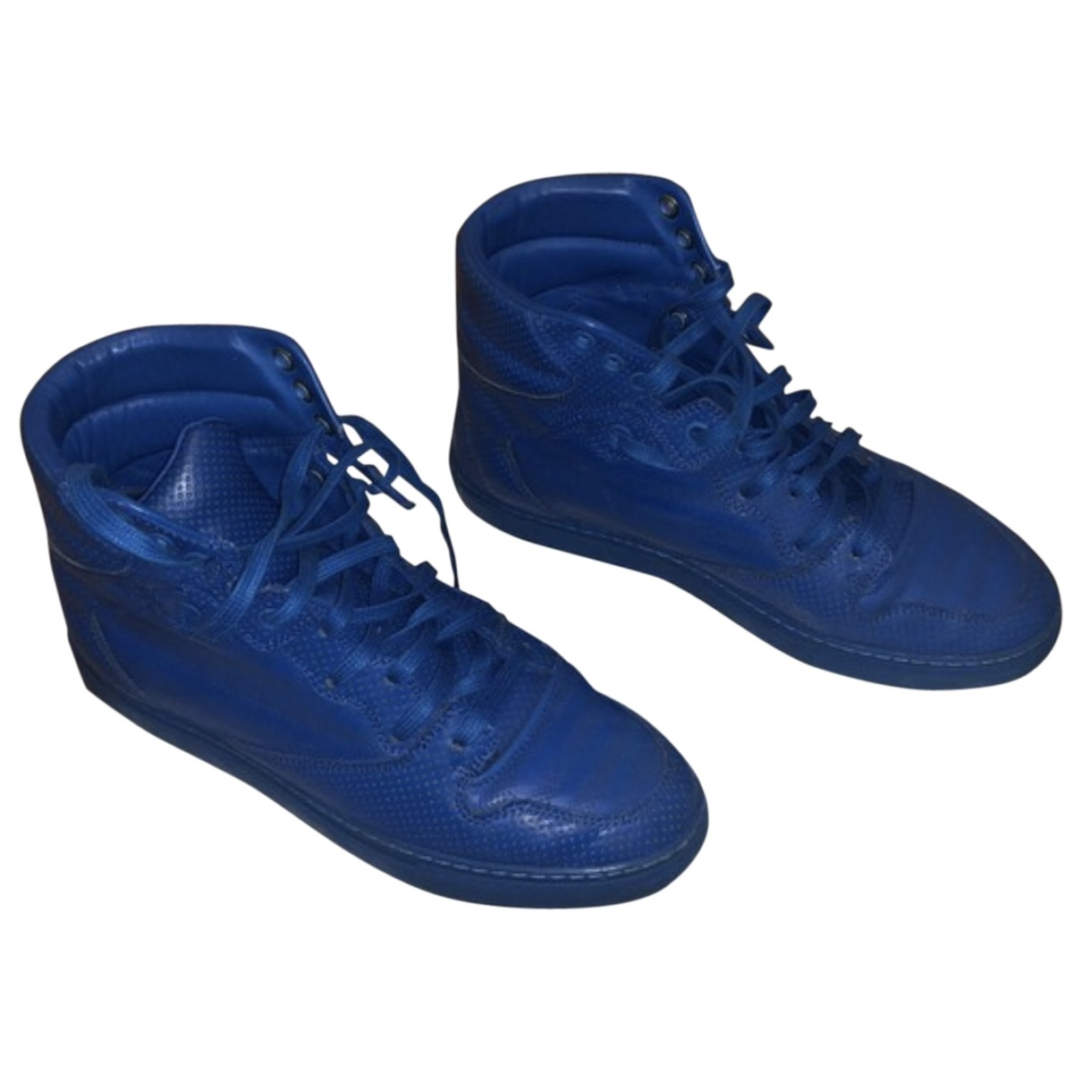Balenciaga - Baskets   pour femme en cuir - bleu