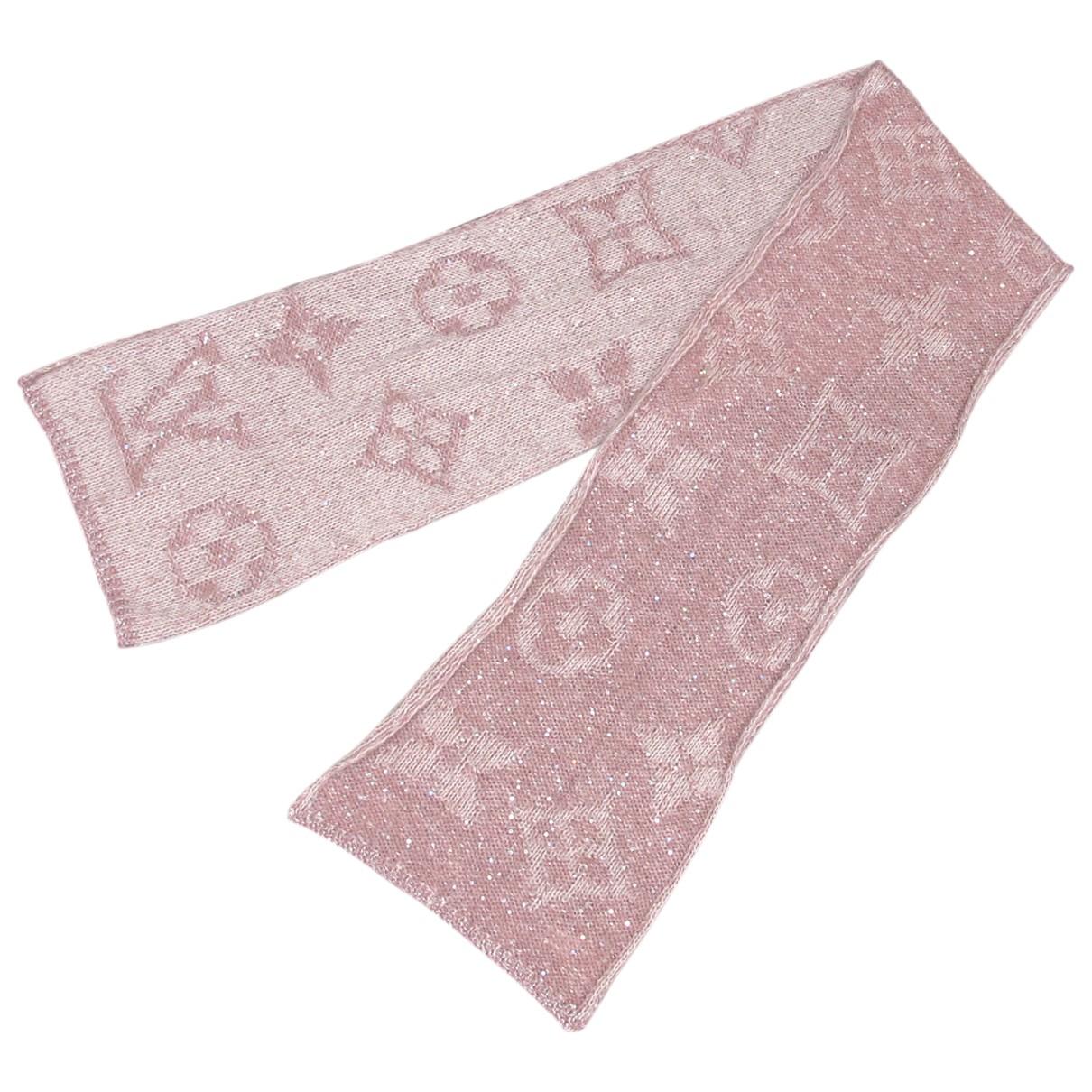 Louis Vuitton - Foulard   pour femme en autre - rose