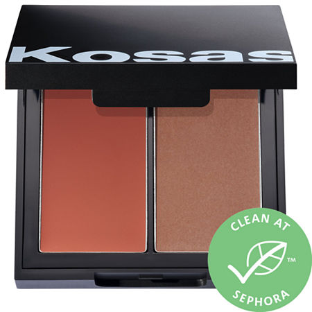 KOSAS Color & Light: Pressed Powder Blush & Highlighter Duo, One Size , Multiple Colors