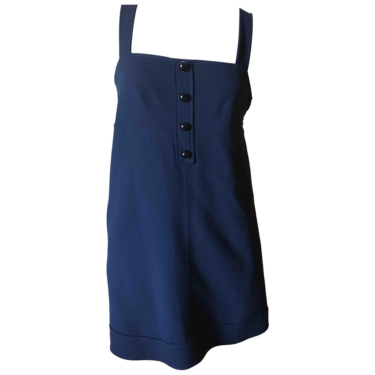 Derek Lam \N Navy Wool dress for Women 38 FR