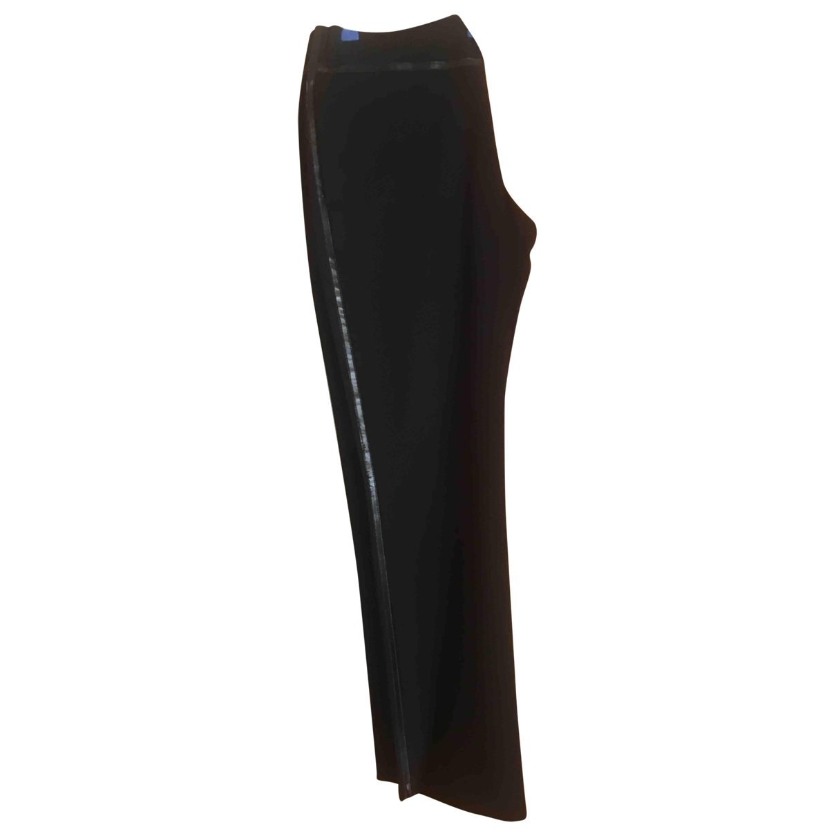 Emporio Armani \N Black Cotton Trousers for Men 48 IT