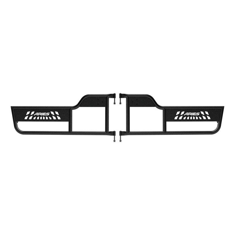 Aries 1500100 Aluminum Textured Black Powder Coat Jeep Wrangler TJ Tube Doors