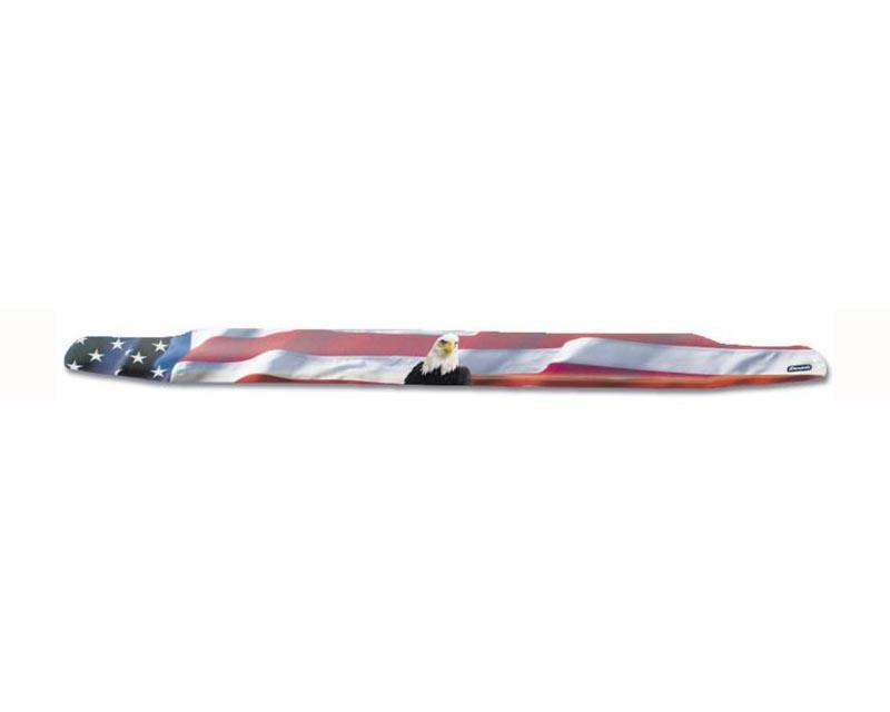 Stampede 2050-30 American Flag w/ Eagle Vigilante Premium Hood Protector Chevy Silverado 1500 2014-2015
