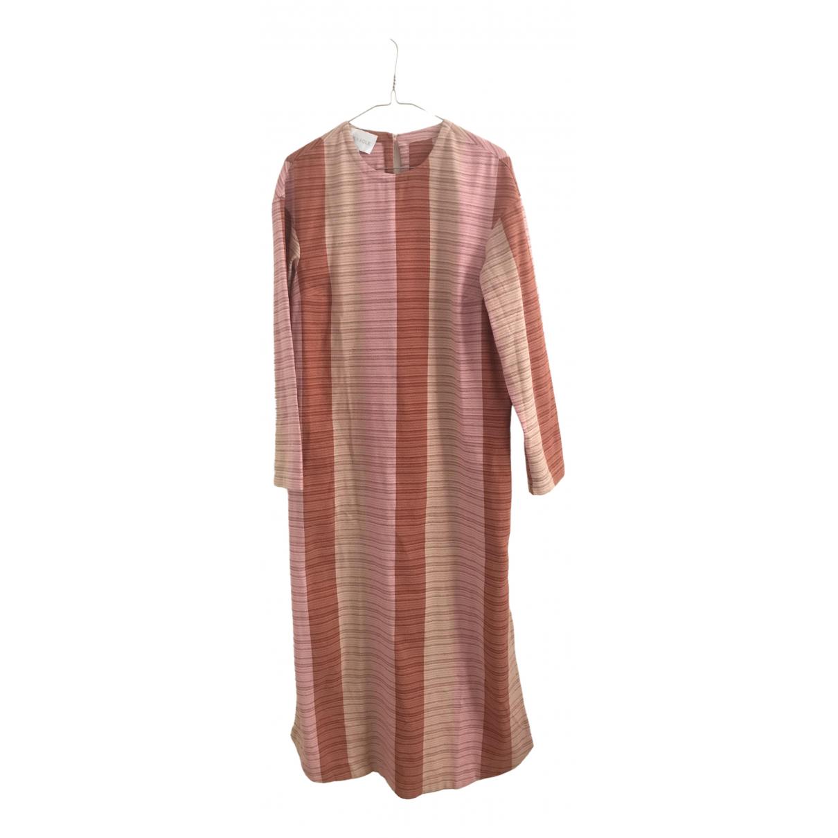 Lucy Folk \N Kleid in  Bunt Baumwolle