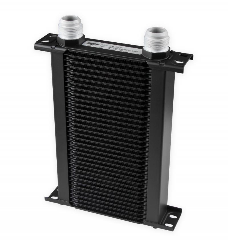 Earl's Performance 234-16ERL 34 ROW -16 AN ULTRAPRO COOLER NARROW BLK
