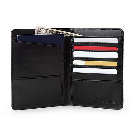 Samsonite RFID Blocking Passport Holder, One Size , Black
