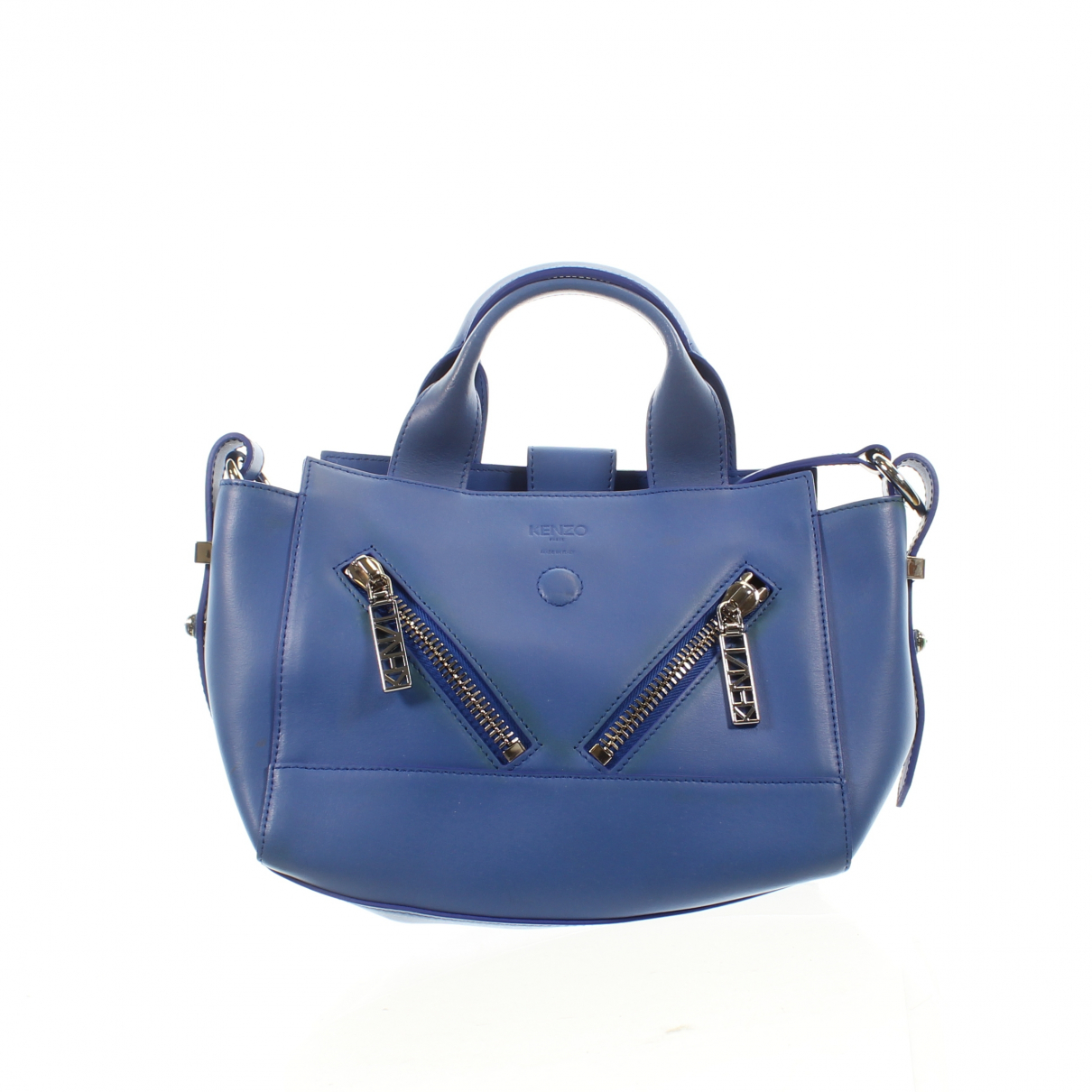 Kenzo Kalifornia Blue Leather Clutch bag for Women \N