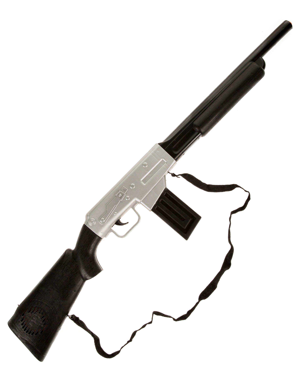 Kostuemzubehor Gewehr Joe schwarz 71cm