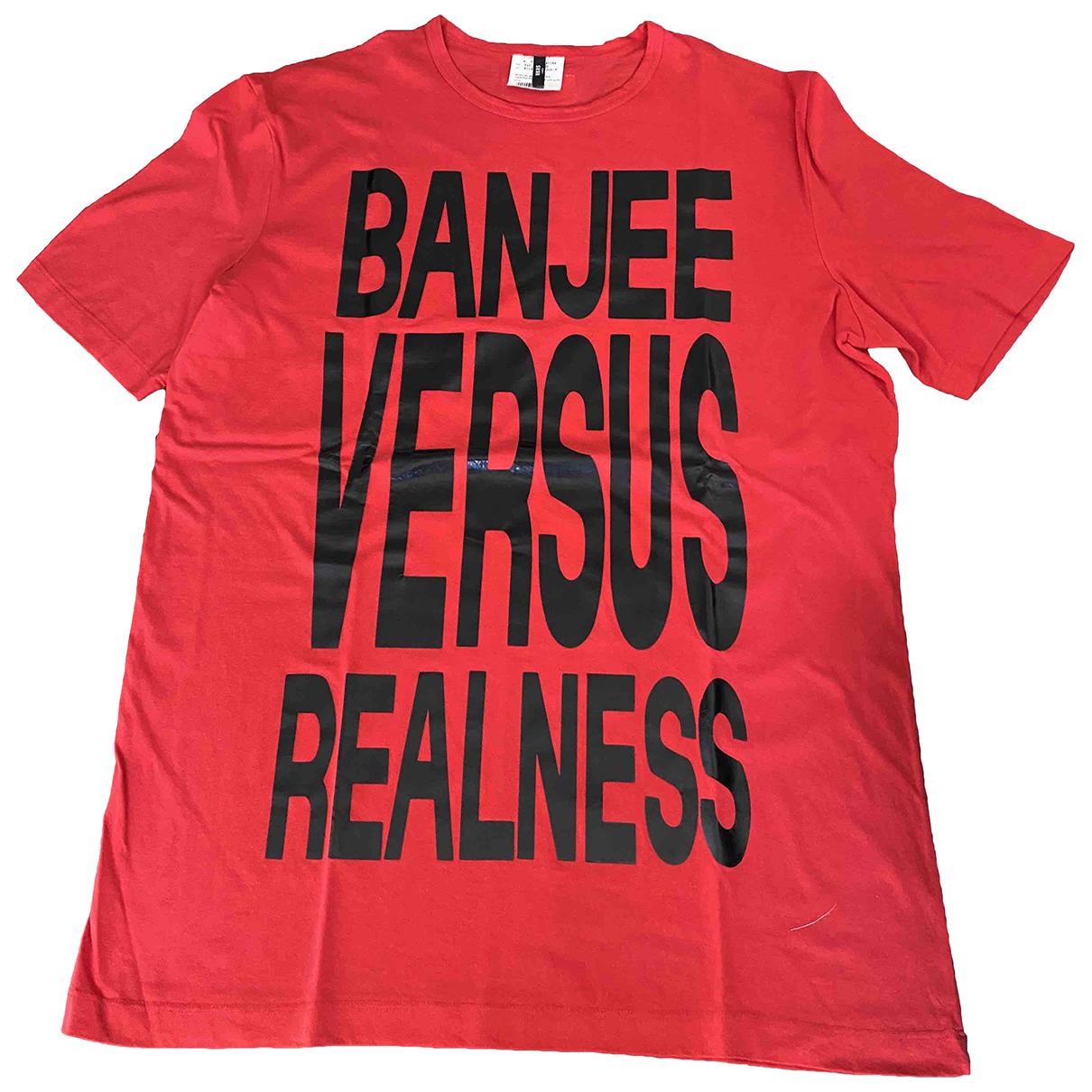 Versus - Tee shirts   pour homme en coton - rouge