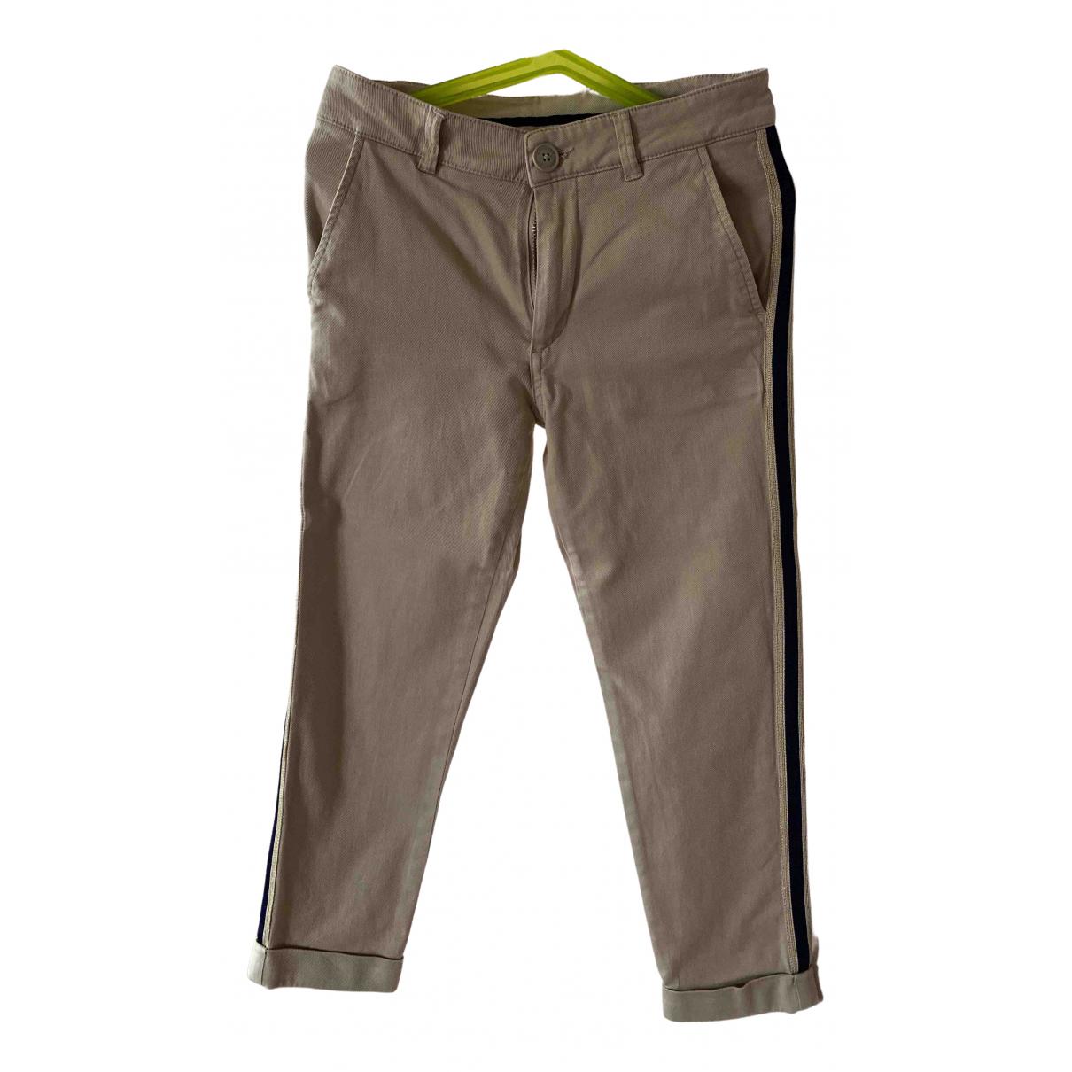 Moncler - Pantalon   pour enfant en coton - beige