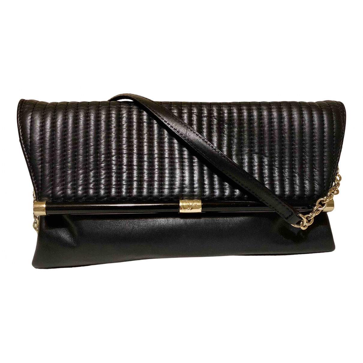 Diane Von Furstenberg N Black Leather handbag for Women N