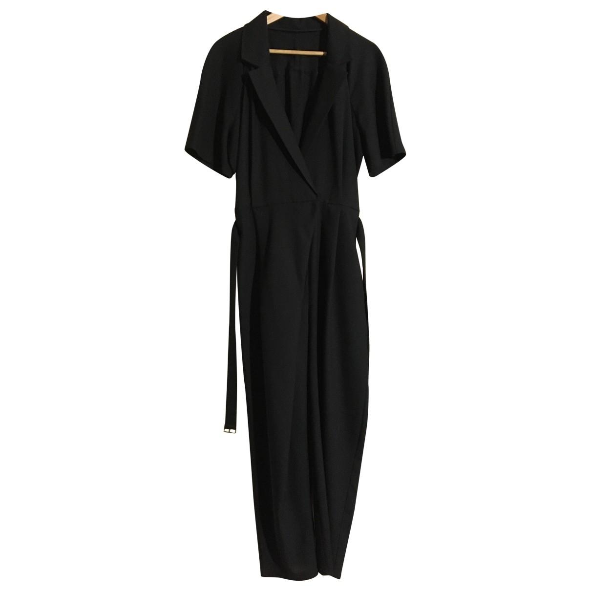 - Combinaison Oversize pour femme en laine - noir