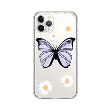 Butterfly & Daisy Print iPhone Case