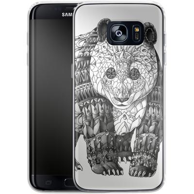 Samsung Galaxy S7 Edge Silikon Handyhuelle - Panda von BIOWORKZ