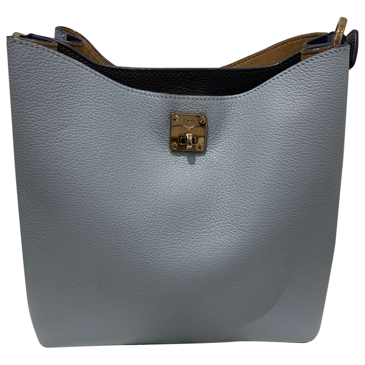 Mcm Milla Blue Leather handbag for Women \N