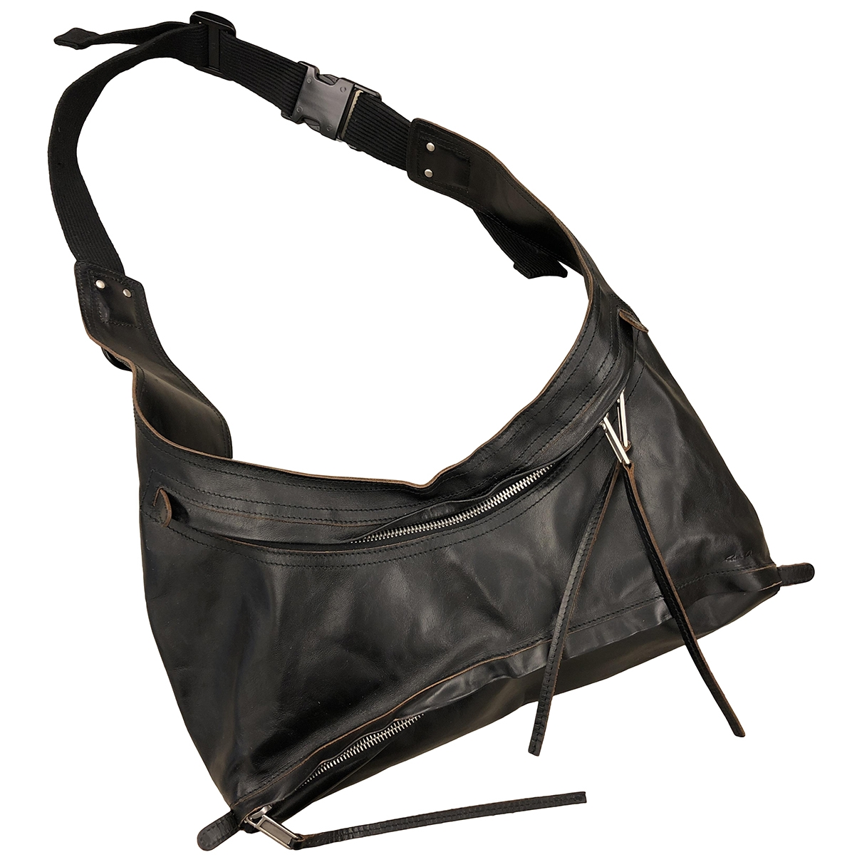 Rick Owens \N Black Leather handbag for Women \N