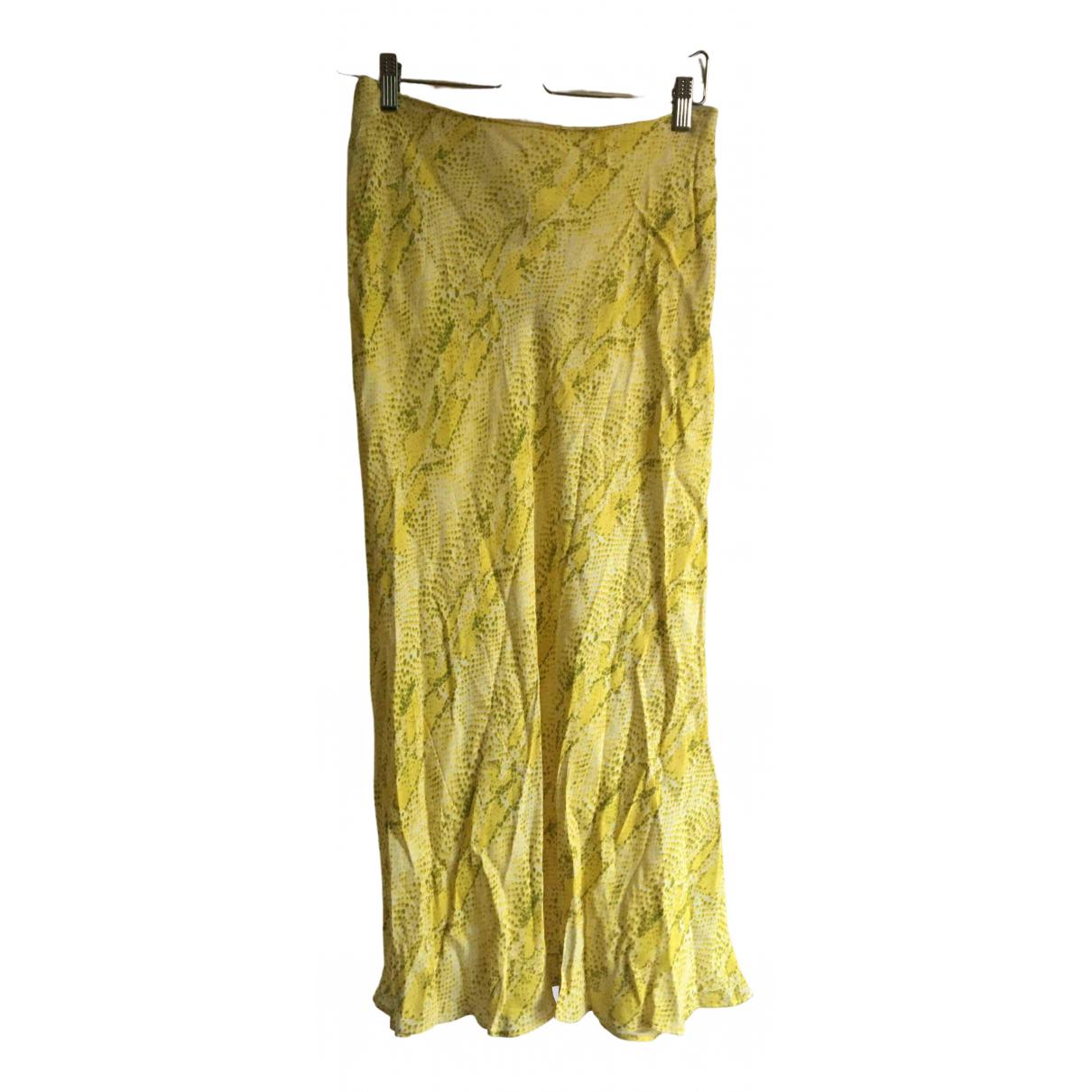 Whistles \N Yellow skirt for Women 38 FR