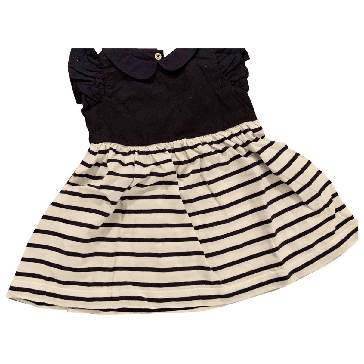 Jacadi - Robe    pour enfant en coton - marine