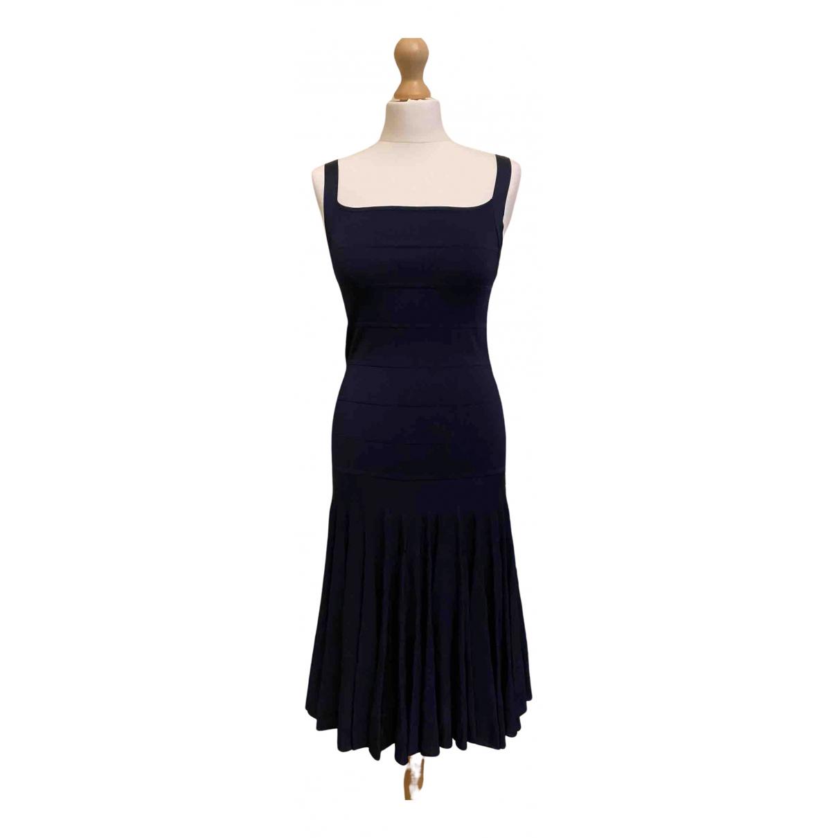 Ralph Lauren - Robe   pour femme en soie - marine