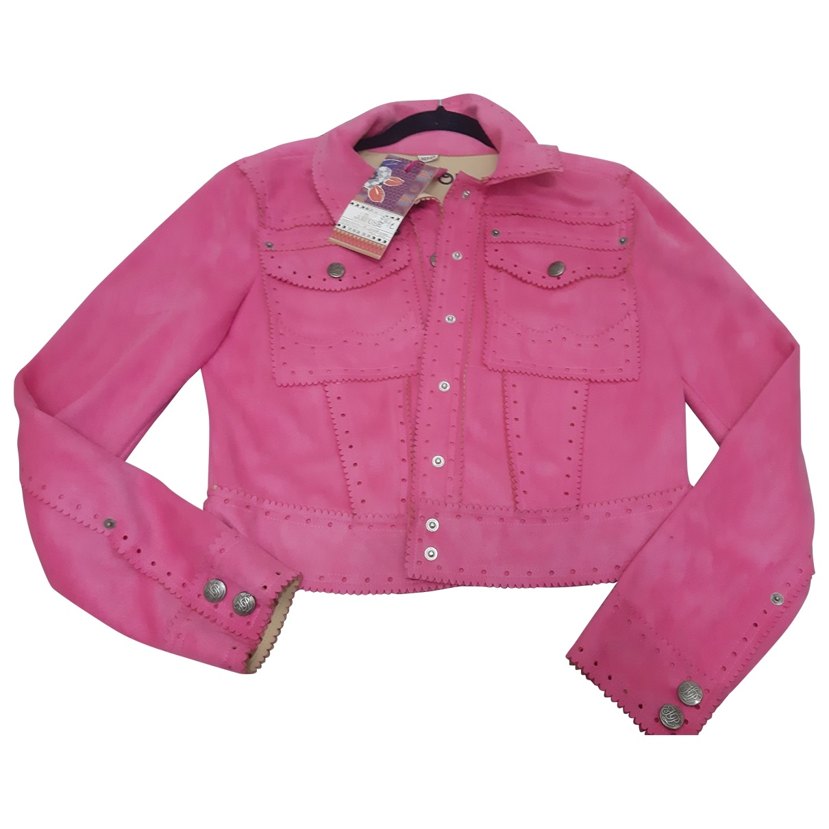 Non Signé / Unsigned \N Pink jacket for Women 38 FR